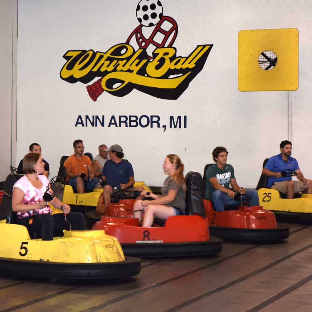 Lotus Gardenscapes employee fun day - whirlyball ann arbor